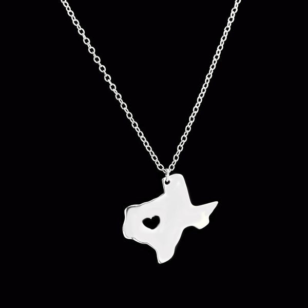 2016 TX Texas State Necklace 1