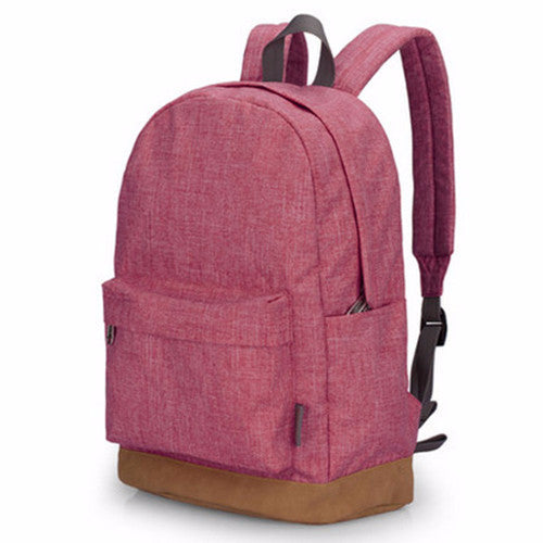 Canvas Casual Rucksack Backpack For Men And Women