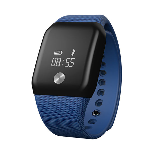 Bluetooth Fitness Tracker Watch With Heart Rate Monitor
