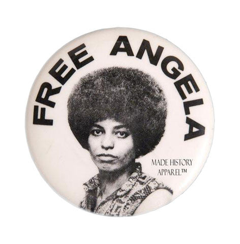 Free Angela Iconic Button Series