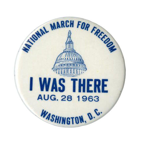 March on Washington MLK Iconic Button Series