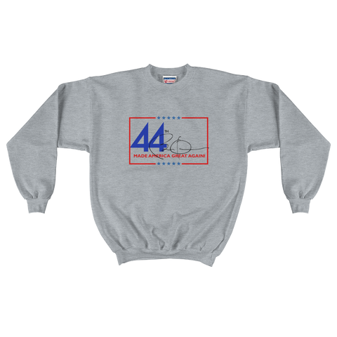 44th Made America Great Again Obama Signature Crewneck Sweater