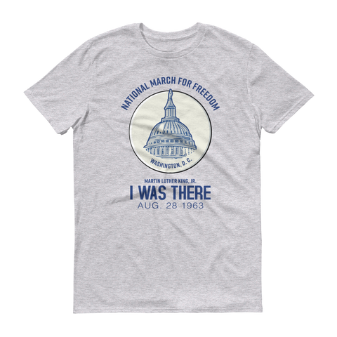 March on Washington Iconic Button Short Sleeve Shirt