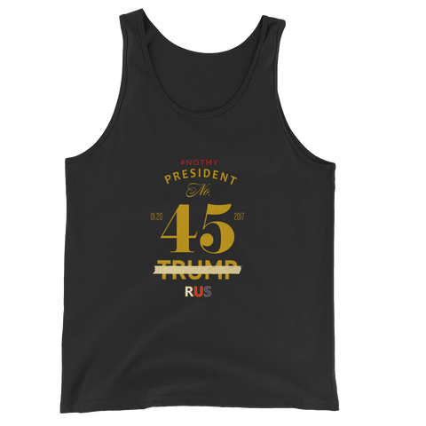 45th Not My President Resistance Tank Top
