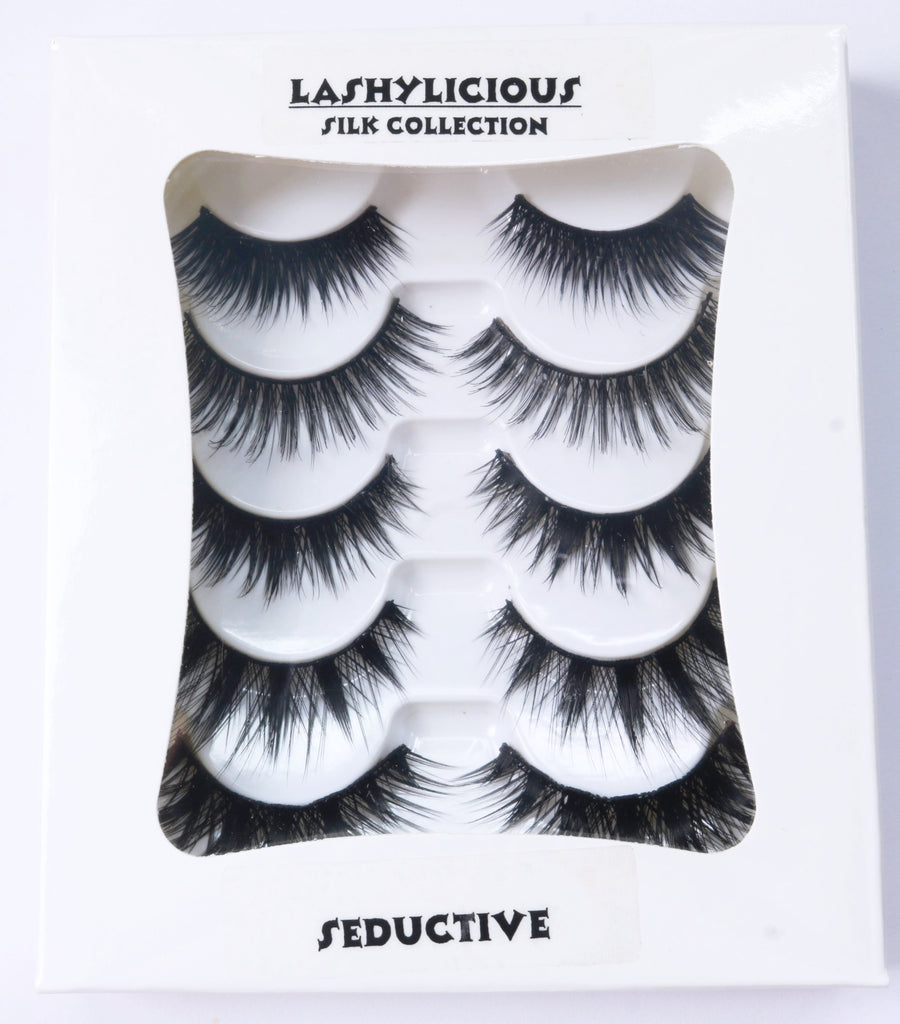 Seductive Set - Silk Collection - Lashylicious