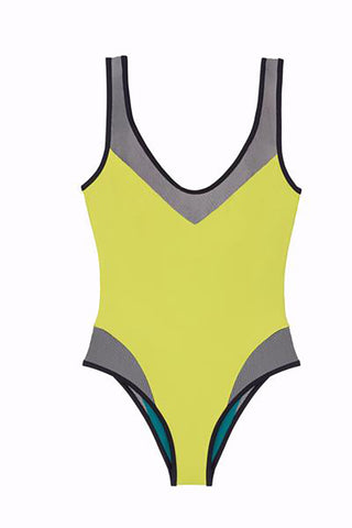 Yellow Melodi One Piece