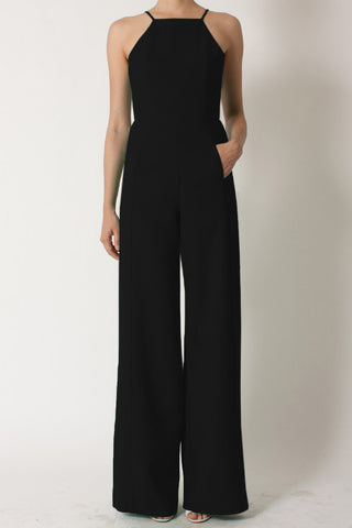 Black Halo Joaquin Jumpsuit Black | Quiwi House