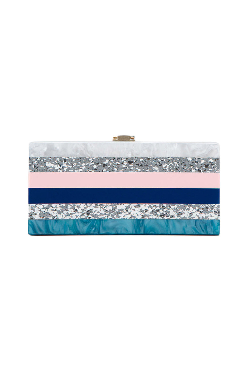 Milly Marble Clutch Multi | Quiwi House
