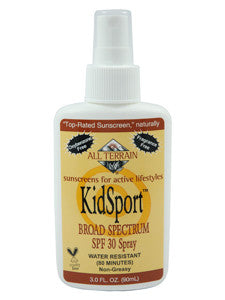 KidSport SPF30 Sunscreen Spray 3 oz