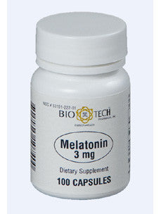 Melatonin 3 mg 100 caps