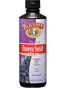 Blackberry Omega Swirl Flax Oil 16 oz