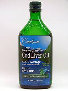 Cod Liver Oil Regular Flavor 500 ml