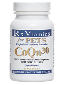 CoQ10 30 for Dogs & Cats 30 gels
