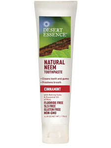 Natural Neem Toothpaste Cinnamin 6.25 oz