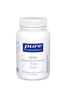 DHEA (micronized) 25 mg 60 vcaps