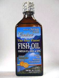 Fish Oil Orange 200 ml