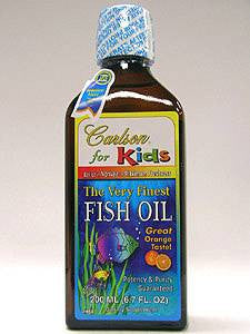 Carlson Kids Finest Fish Oil Orange200ml