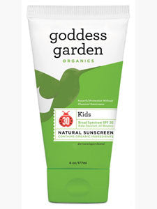 Kids Natural Sunscreen Tube 6 oz
