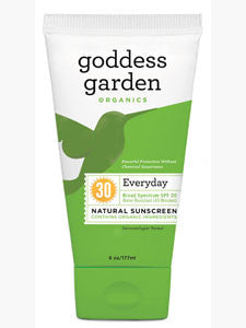 Everyday Natural Sunscreen Tube 6 oz