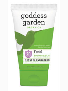 Facial Natural Sunscreen Tube 3.4 oz