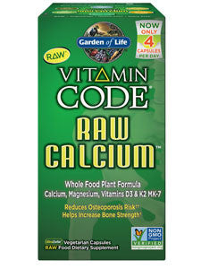 Vitamin Code Raw Calcium 120 vegcaps