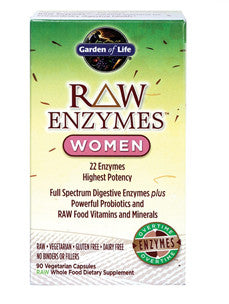 RAW Enzymes Women 90 vcaps
