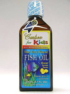 Carlson  for Kids Fish Oil Lemon 200 ml
