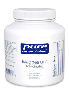 Magnesium (glycinate) 120 mg 180 vcaps