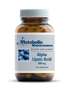 Alpha Lipoic Acid 300mg 100 caps