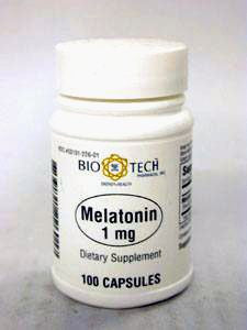 Melatonin 1 mg 100 caps