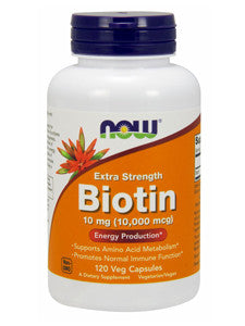 Biotin Extra Strength 10 mg 120 vcaps