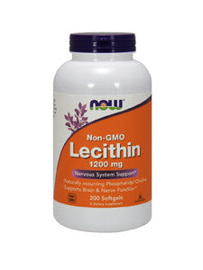 Lecithin (Non-GMO) 1200 mg 200 softgels