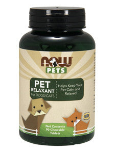 Pet Relaxant for Dogs and Cats 90 tabs
