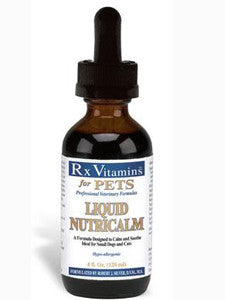 Liquid NutriCalm Dogs & Cats 4 oz