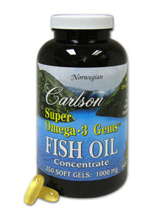Super Omega-3 Gems 1000 mg 250 softgels