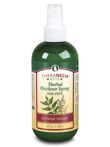 Herbal Outdoor Spray for Pets 8 fl oz