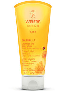 Calendula Shampoo and Body Wash 6.8 oz