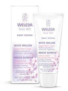 White Mallow Diaper Rash Cream 1.9 oz