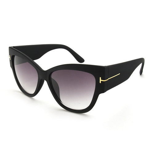 Luxury Women's Sunglasses Oversize Acetate Cat Eye