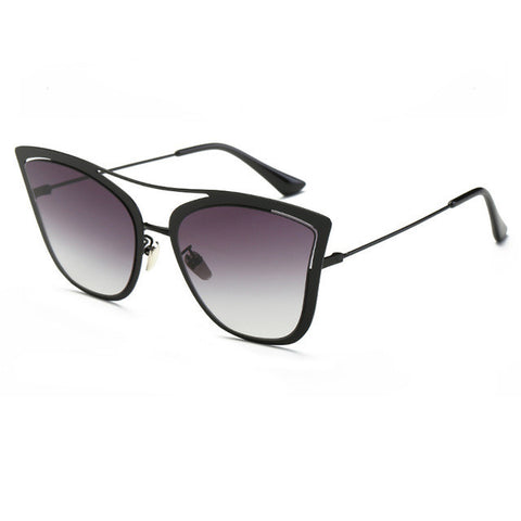 Metal Frame Cat Eye Women's Sunglasses