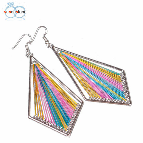 Women's Alloy Drop Bright Geometric Earring