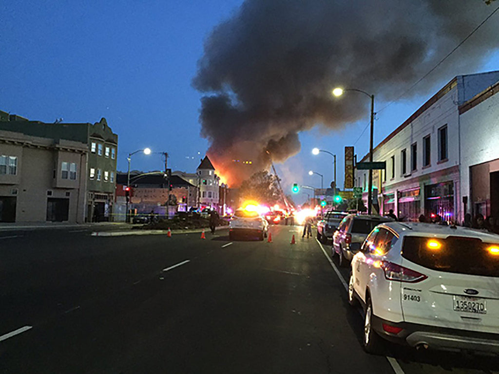The Apartment Building Fire in West Oakland