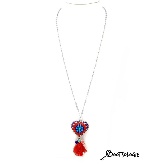 Alex Heart Necklace - Bootsologie