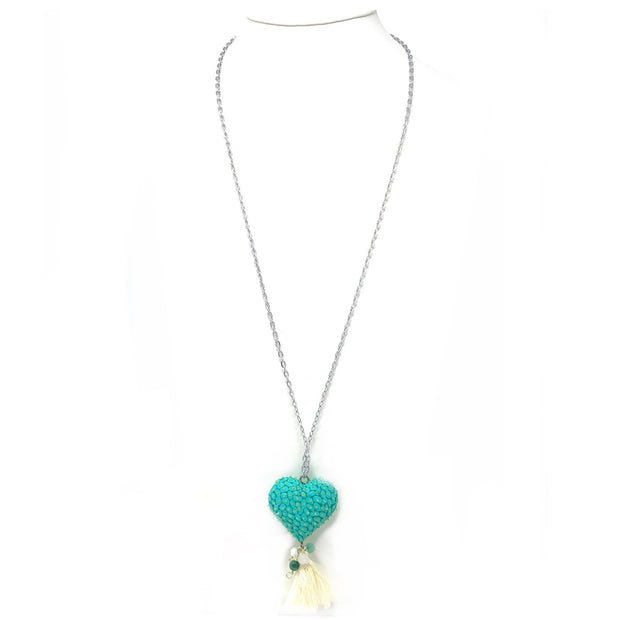 Sky's Heart Necklace