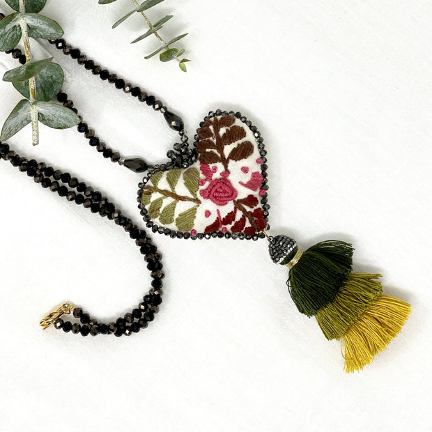 Sam's Black Clay Earrings - Bootsologie