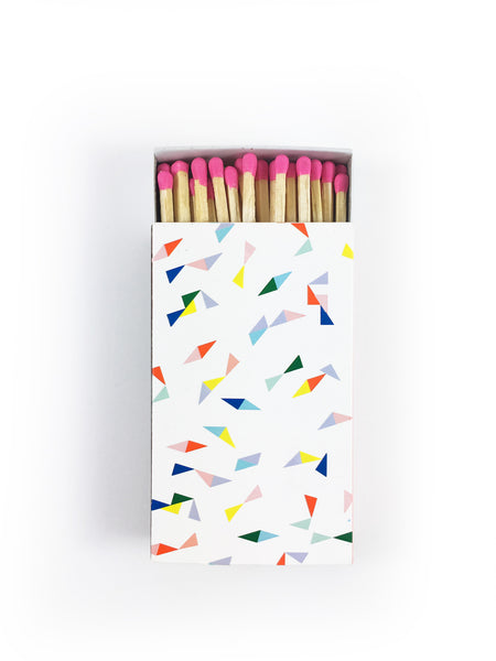 Large Matchbox - Confetti