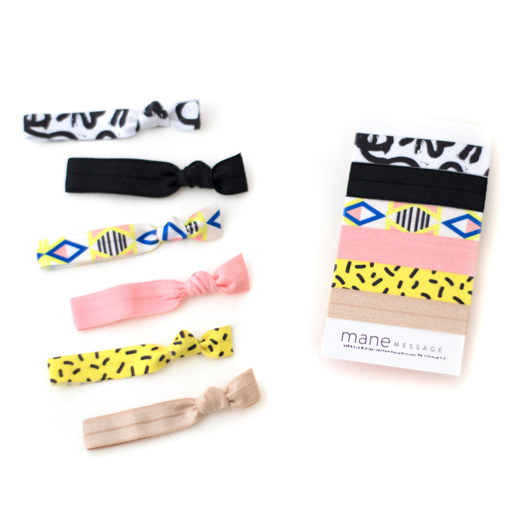 Tribal Hair Tie Package