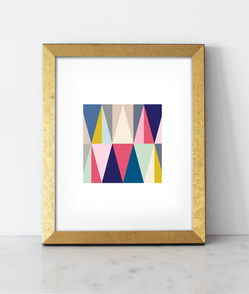 Love Triangle Print