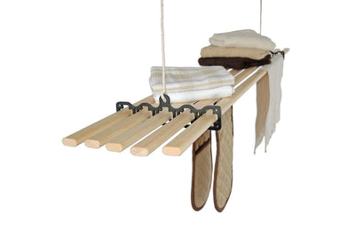 Five Lath Gismo Clothes Airer - Ceiling Clothes Airer - Kitchen Maid - Lifestyle Clotheslines - 1