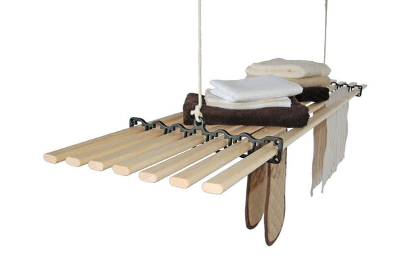 Seven Lath Gismo Clothes Airer - Ceiling Clothes Airer - Kitchen Maid - Lifestyle Clotheslines - 1